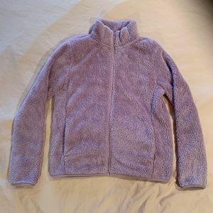 UNIQLO Fleece ZIP Up Jacket- Light Purple- Medium